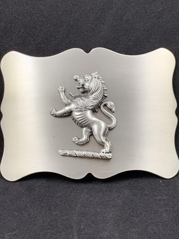 Buckle - Antiqued Lion shaped