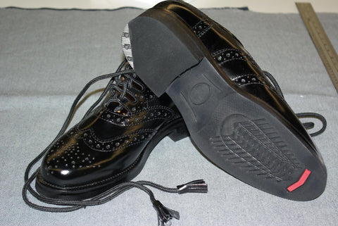 Ghillile Brogue (Standard Marching Brogue Rubber Sole With Tap)