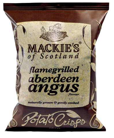 Potato Crisps Aberdeen Angus (Mackies)