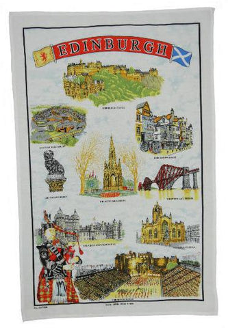 Tea Towel - Edinburgh