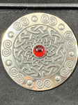 "Brooch - 2"" Celtic Spiral"