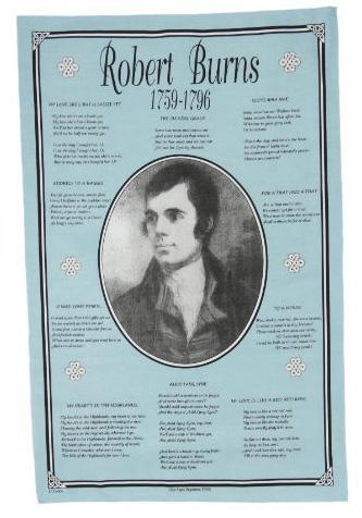 Tea Towel - Robert Burns