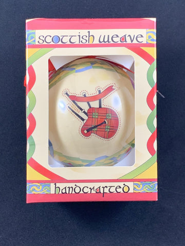 Christmas Ornaments - Scottish Bagpipe