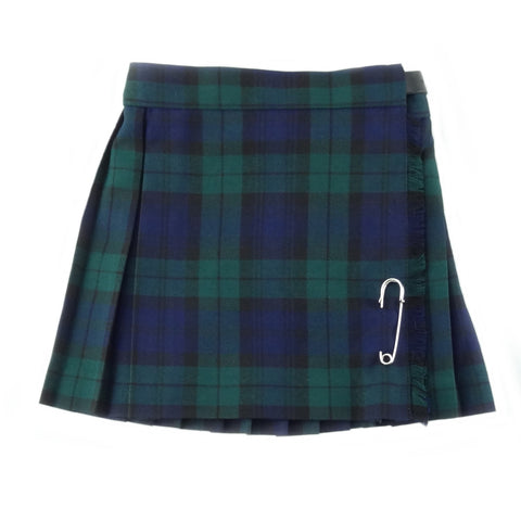 Kilt Child Girls Black Watch