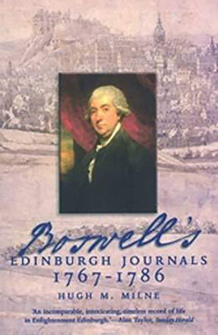 Boswell's Edinburg Journals - Hugh M. Milne