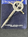 Kilt Pin with Clan Crest (CK)