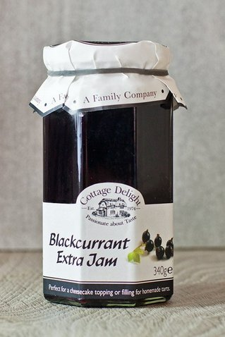 Jam Blackcurrant (Cottage Delight)