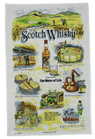 Tea Towel - Scotch Whisky