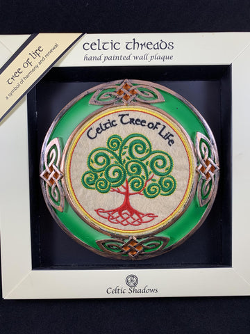 Wall Plaque - Celtic Tree of Life 6""