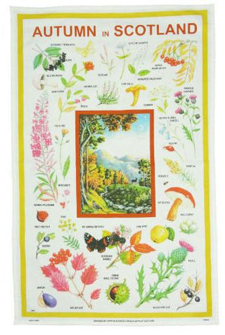 Tea Towel - Autumn