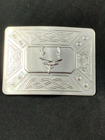 Buckle Stag Chrome
