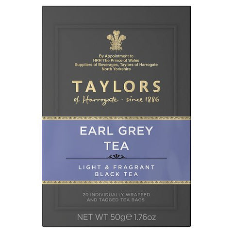 Tea Earl Grey 20's (Taylors of Harrogate)