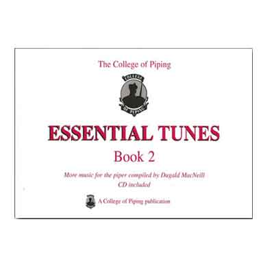 Essential Tunes Book 2 with CD - College of Piping