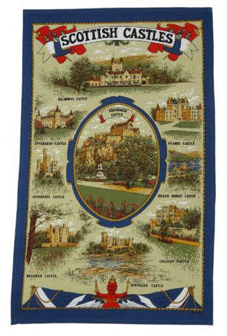 Tea Towel - Scottish Castles