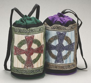 Backpack Cotton Celtic Cross