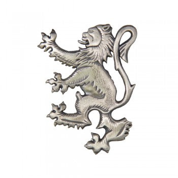 Brooch - Lion Rampant Antiqued