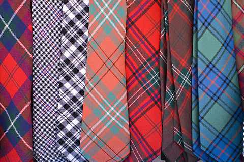 Tie Scottish Tartan (A-C)