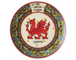 Plate Welsh Dragon 4""