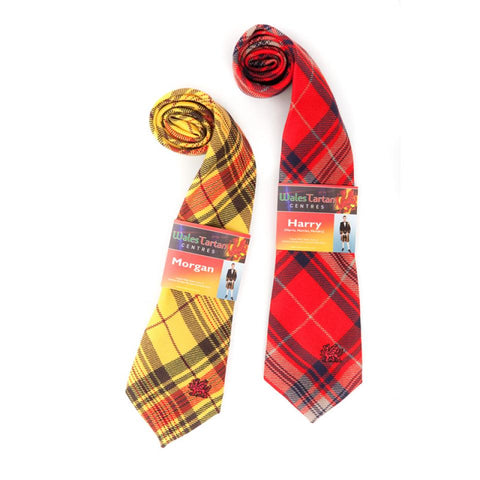 Tie Welsh Tartans