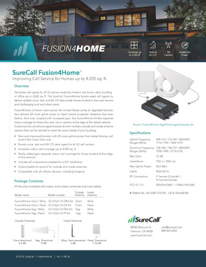 SureCall Fusion4Home Yagi / Whip Kit