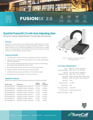 Fusion5X 2.0 Omni / 4 Dome Kit