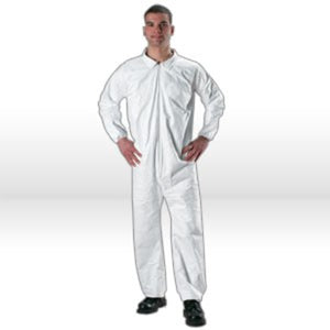 Lakeland MicroMax NS Coverall,MicroMax NS Coverall,W/Zipper,3X-L