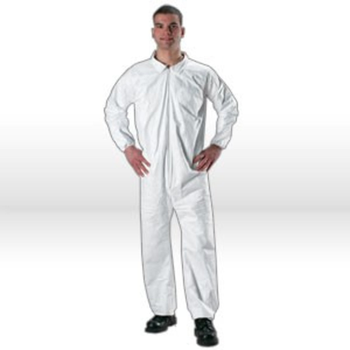 Lakeland MicroMax NS Coverall,MicroMax NS Coverall,W/Zipper,X-L