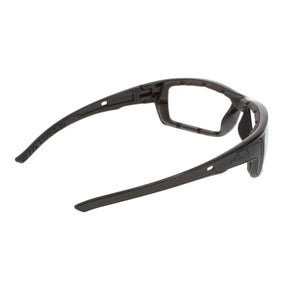 MCR Swagger SR5 Safety Glasses, Foam Lined, Clear Anti-Fog Lens