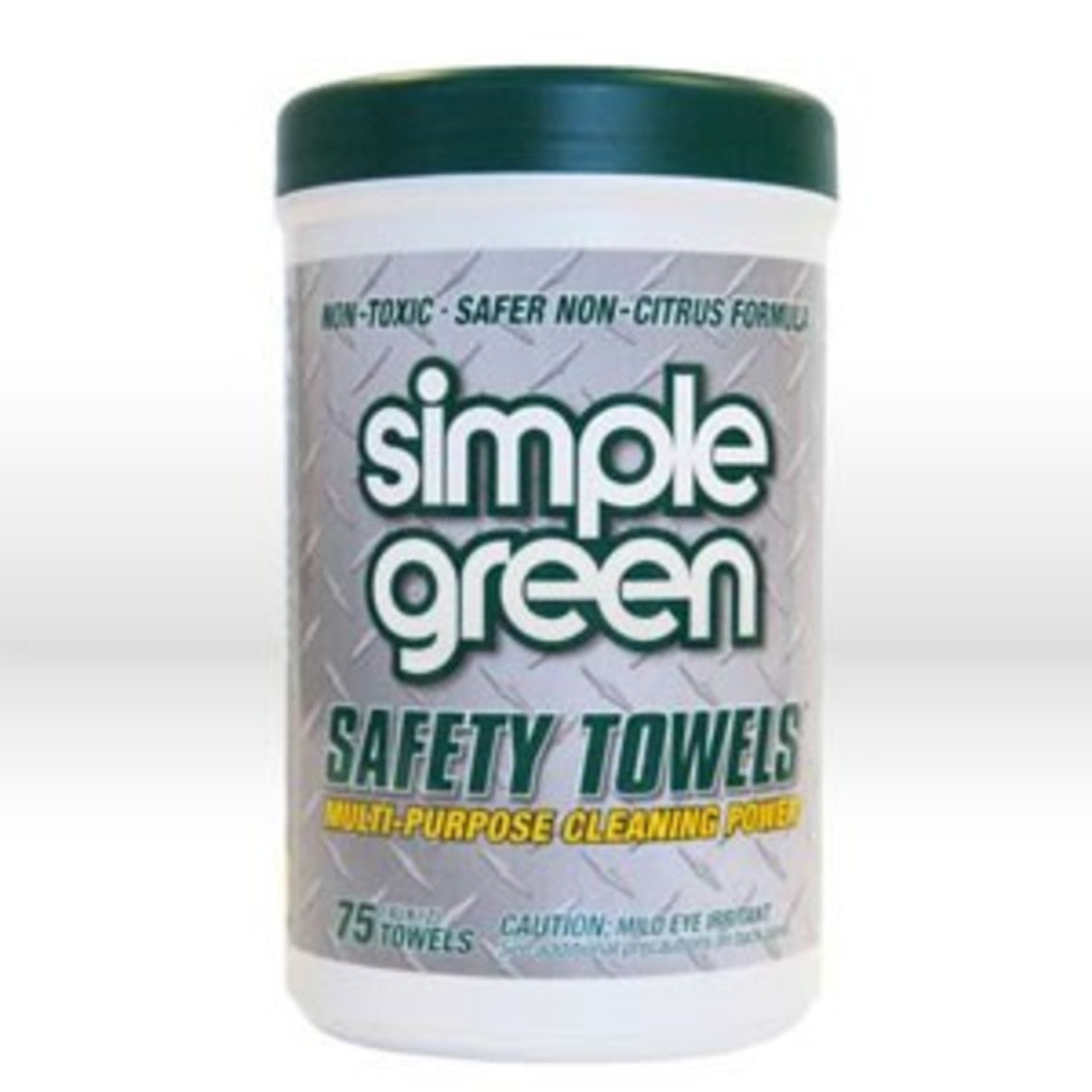 Simple Green Towels Hand Cleaning Wipes,Multi-Purpose Cleaner Towels,75 Count Canister