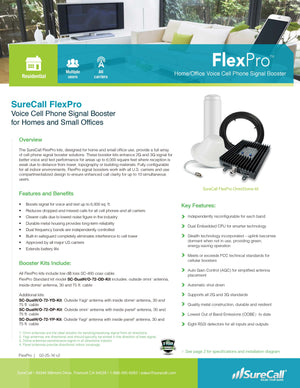 SureCall FlexPro Omni/Panel Kit
