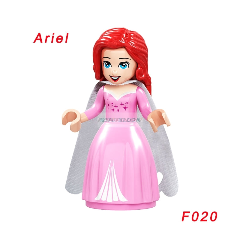 Fairy Tale Princess Girl Maleficent Building Doll Figures Bricks Blocks Model Friends Children Toys Compatible Legoing Friends