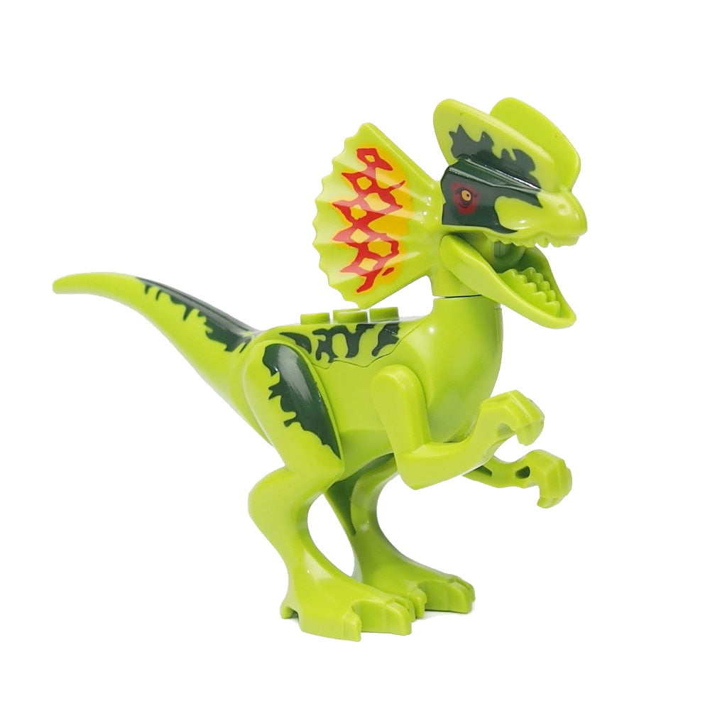 Single legoing Jurassic Sale Dinosaurs park Pterosauria Triceratops Indomirus T-Rex World Figures Bricks Toys Building Blocks