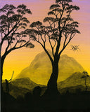 """Sunset Silhouettes #1"" 