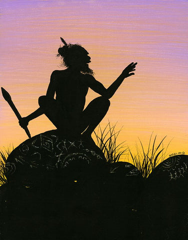 """Sunset Silhouettes #2"" 