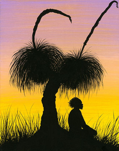 """Sunset Silhouettes #3"" 