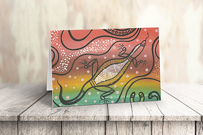 GREETING CARD | Dirawong Dreaming
