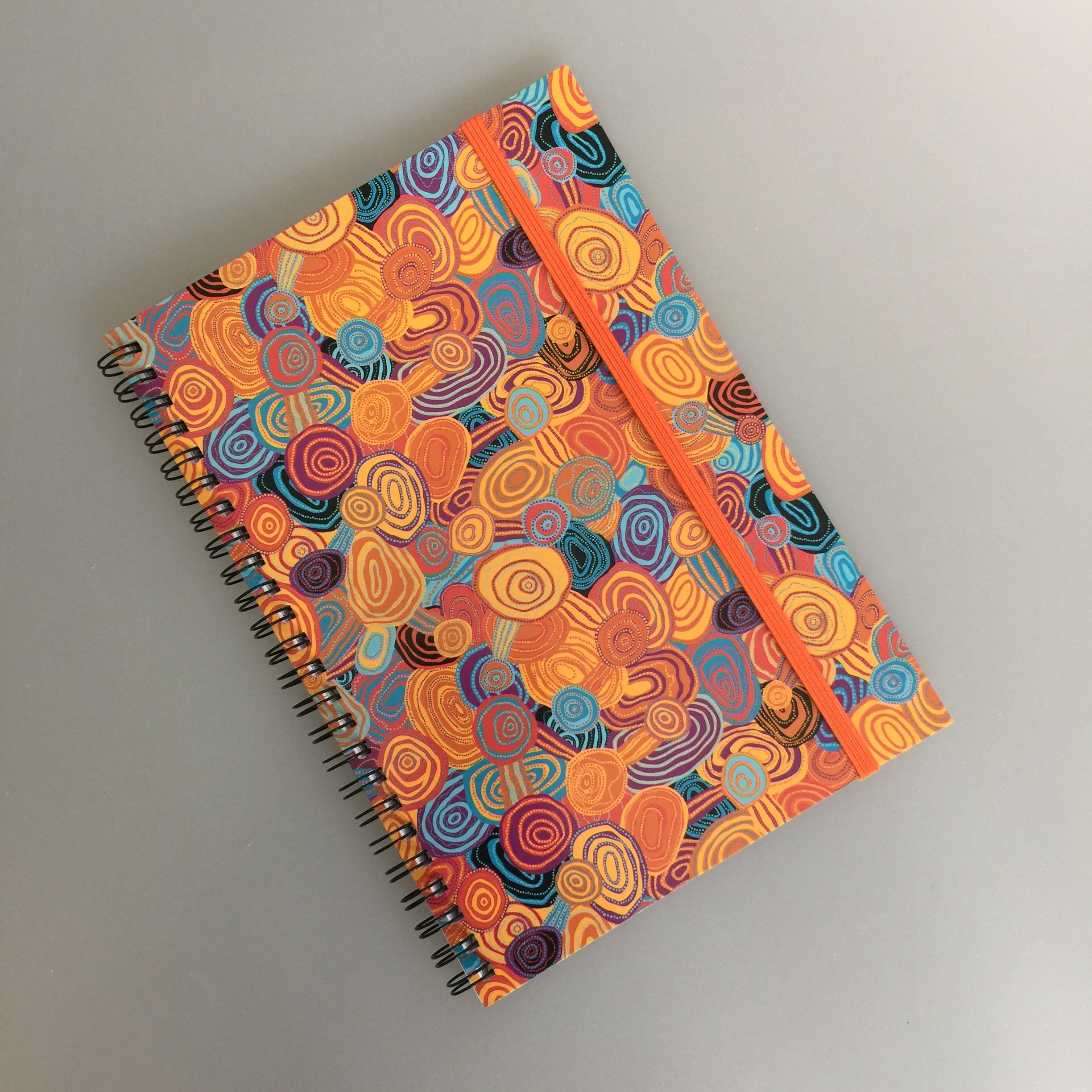 'Firestones' A5 Notebook