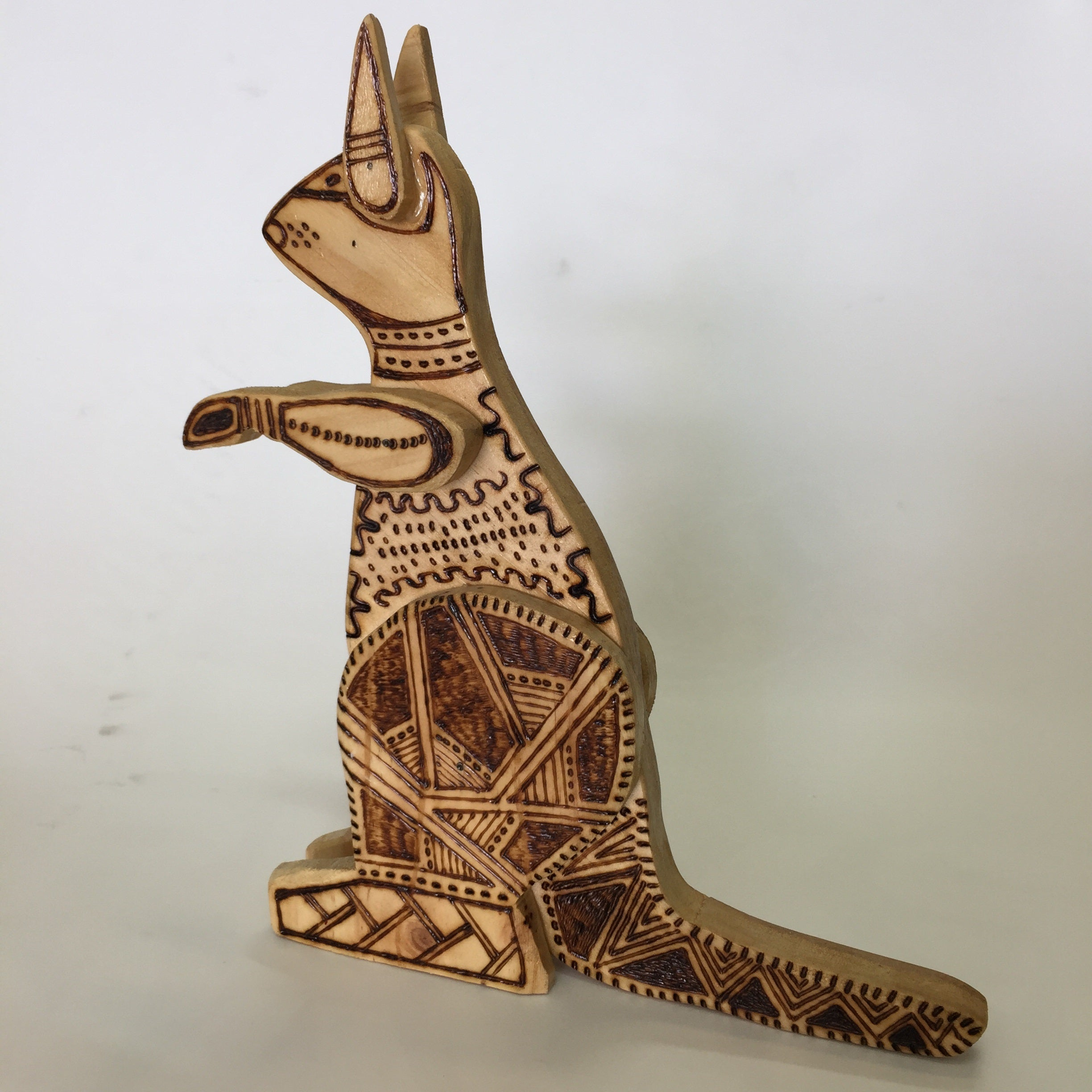 'Guruhman' Kangaroo | Burnt Wood