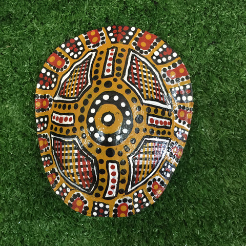 'Bingis' | TURTLE SHELL | Painted #BINGIS013
