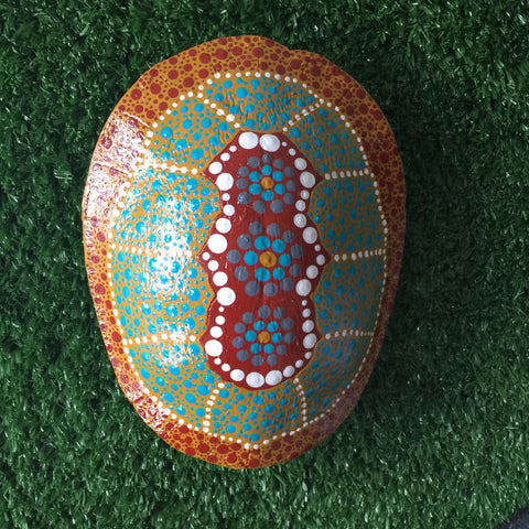 'Bingis' | TURTLE SHELL | Painted #BINGIS015
