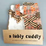 'Lubly Cuddly' Baby Dribble Cuddle Cloth