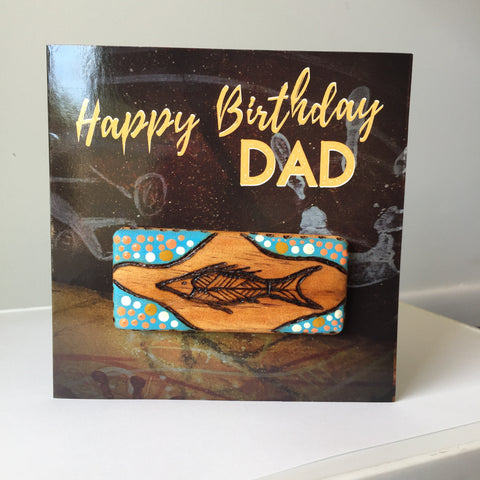 Dad Birthday Card | Hand-painted