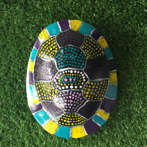 'Bingis' | TURTLE SHELL | Painted #BINGIS014
