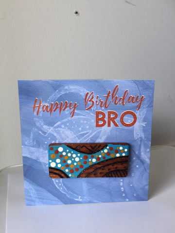 Happy Birthday Bro' | Hand-crafted Card