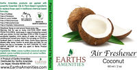 Coconut Essential Oil Air Freshener 60ml (Case of 12)