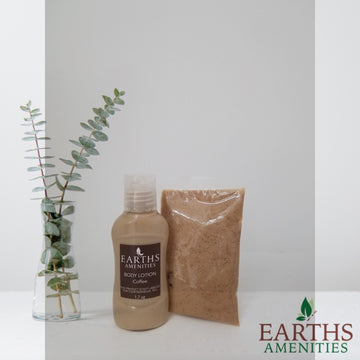 Body Scrub Kit | Earths Spa Collection | Coffee (Case of 12)