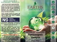 Hypoallergenic Essential Oil Shampoo 240ml (Case of 12)
