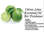 Lime Essential Oil Air Freshener 60ml (Case of 12)