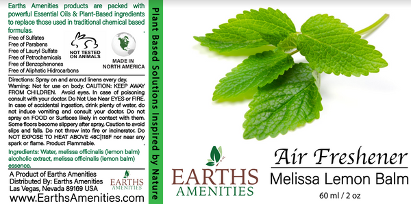 Melissa Lemon Balm Essential Oil Air Freshener 60ml