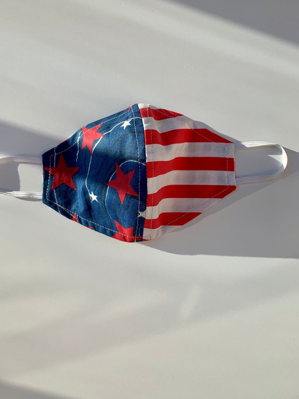 Patriotic Fabric Face Mask